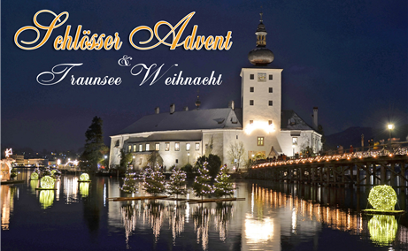 Schlösser Advent am Traunsee